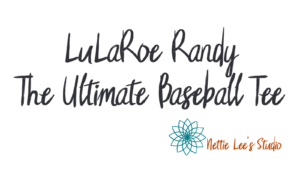 LuLaRoe Randy Baseball Tee